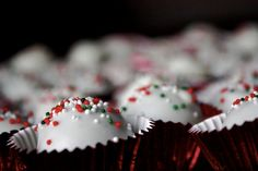peppermint brownie ball