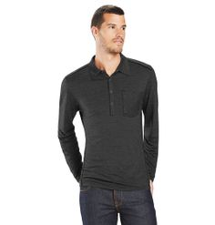 M2 Polo by Nau stylish blend of merino wool and quick-drying tencel  for active layering.