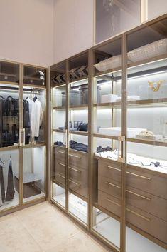 Walk In Closet Design, Bedroom Closet Design, Master Bedroom Closet, Closet Designs, Bedroom Decor, Modern Closet, Simple Closet, Deco Baby Shower, Wardrobe Room