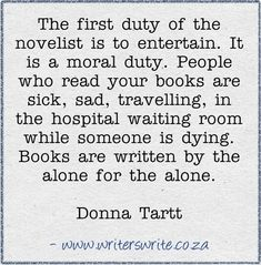 Wow, you never realize what a book can do for someone. Another place and story could be what they need. The books I remember most are the ones I read heart broken, alone, and waiting.