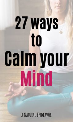 27 Ways to Calm Down - - Self-Care tips for a calm mind. 27 ideas that you can use to keep your mind healthy and calm! These tips are easy to use, and are great for self-care. Meditation For Anxiety, Breathing Meditation, Mindfulness Meditation, Focus Your Mind, Health Day, Mental Health, Mind Thoughts, Mindfulness Exercises, Self Care Routine