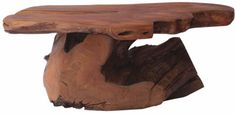 A coffee table carved out of teak wood will definitely be a conversation-starter. | $750