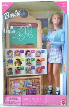 Barbie Sign Language Doll Tru Exclusive 1999 25837 Teach Learn Classroom | eBay