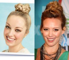 How to: High braided updo