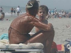 add this pic to the list of reasons to protect your skin- if you want a tan, get one from a bottle! protect yourself from the sun, and stay away from cancer beds- err, tanning beds!
