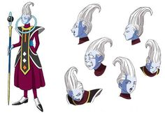 """""""Guess it's about time I brought out a good-lookin' feller, too!"""" …I thought. (laughs) And so Whis was born. Well, more so than a """"good-lookin' feller"""", he became a character who's sort of naïvely oblivious, but as a result, I came to like this one quite a bit too. So, Beerus and Whis. Bringing them out in sets of two might also be a characteristic of my stories. Whis is a character I came up with, figuring as you might expect, that I needed to bring out a handsome fella, as well. (laughs) I…"""