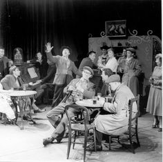 A production image from the Theatre Workshop days. Van Call (1954) http://www.stratfordeast.com