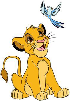Roi Lion Simba, Lion King Simba, Le Roi Lion, Disney Lion King, The Lion King, Disney Character Drawings, Disney Drawings, Cartoon Drawings, Lion King Party