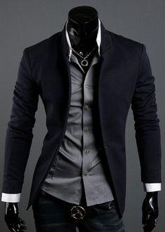 One Button Basic Blazer