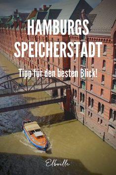 Hamburgs Speicherstadt: Backstein-Schluchten, grandiosen Fleeten, Kanälen und Brücken. Doch Ihr möchtet vielleicht nicht nur die üblichen Klassiker mit der Kamera einfangen, die man gefühlt schon millionenfach gesehen hat, sondern interessiert Euch auch für ein paar besondere Motive? In diesem Beitrag lotse ich Euch an ein paar tolle, teilweise versteckte Orte, die nicht ganz so bekannt sind wie beispielsweise der Blick von der Poggenpohlbrücke zur Blue Hour – aber genauso fotogen. Hamburg Guide, Basketball Court, Smartphone, Large Photos, Photo Illustration, Brick Art, Hidden Places, Brick Building