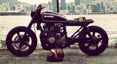 Honda CB750 cafe by Wesley Hannam / ET Custom Motorcycles (originally a Nighthawk)