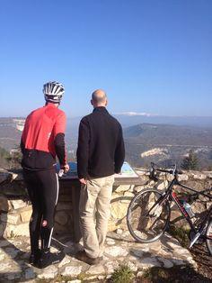 That's where we're heading...Mt Ventoux!