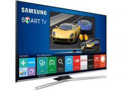 """Smart TV LED 48"""" Samsung Full HD J5500 - Conversor Digital Wi-Fi 3 HDMI 2 USB"""