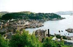 Oban, Scotland, wonderful people, food and history to see