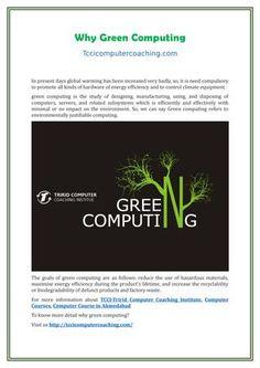 why green computing