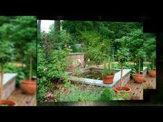 www. This landscape design includes old brick walkways, a wate. www. English Garden Design, Rose Garden Design, Easy To Grow Flowers, Growing Flowers, Garden Features, Water Features, Backyard Landscaping, Landscaping Ideas, Backyard Ideas