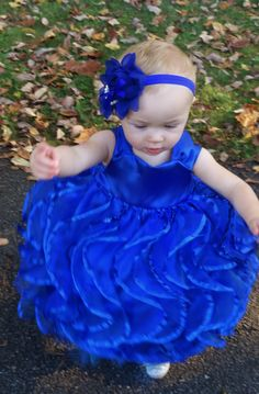 Custom Made Dresses by Samtournoux www.samtournoux.com/  Baby Gown