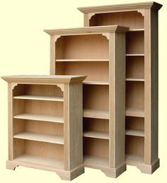 Woodworking Tip: She Woodworking Tip: Shelving Spans for Bookcases #WoodworkingTips