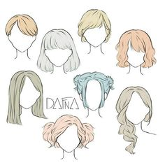 Drawing Hair Tutorial, Drawing Tips, Drawing Ideas, Drawing Drawing, Hair Styles Drawing, Drawing Style, Hair Styles Anime, Back Drawing, Manga Tutorial