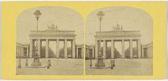 Moser & Senftner | Das Branderburger Thor, mit dem Thiergarten, Moser & Senftner, 1860 - 1870 |