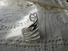 Fork Ring  Fork Jewelry  Sterling Silver  Spoon by TheBeadLadies, $65.99