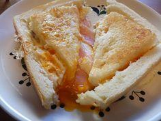 【所要時間5分】Twitterで話題の「卵とパンを使ったお手軽朝食」を作ってみた! 簡単なのにめちゃウマすぎて笑った!