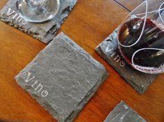 Vino Wine Lover Slate Coasters $20.00
