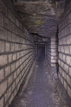 The remains of over six million people are found in Paris' dark, labyrinthine underground tunnels.