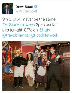 Scott brother's competing on the Food Network Halloween special...(clm)