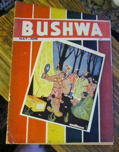 Bushwa Magazine 1932 May & June Publication Rare by VistaChick