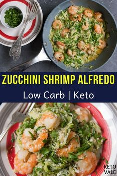 If you run out of ideas for what to cook on keto, just remember that you can make a lot of easy low carb dishes with shrimp and zucchini. Today we'll show you how to make a creamy, soft and delicious…More 25 Awesome Keto Meal Ideas