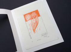 linoprint monoprint by Mea Bateman