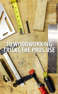 In an effort to share some of my experiences in the shop, here are 10 woodworking tips that I've learned from professionals or on my own. These tips are simple yet effective ways to stay organized and efficient when working with wood.