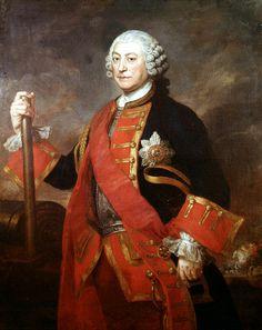 General Jean (or John) Louis Ligonier, Colonel of the Royal Regiment of Horse Guards, 1754 (c)