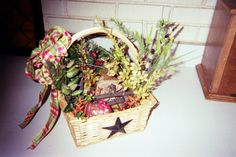 wildlife basket by Joan Larson