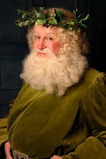 The Holly King~ The modern Santa Claus has it's roots in this one as well.