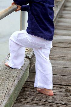 Classic Boys Linen Pants. Linen | Vow Renewal | Pinterest | Boys ...