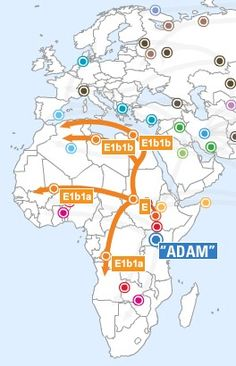 Haplogroup Route Map - Well... this is what is understood thus far.