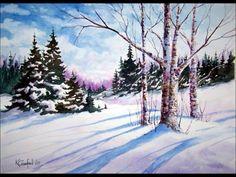 Winter Trees  Ken Crawford