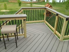 South Riding deck