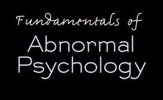 14 best psychology images on pinterest in 2018 fundamentals of abnormal psychology 8th edition pdf free download fandeluxe Choice Image