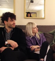 Taylor and Hayley Hayley Paramore, Paramore Hayley Williams, Family Goals, Couple Goals, Haley Williams Hair, Indie, Taylor York, Boy Music, Shes Perfect