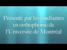 Réalisé par des étudiantes en orthophonie de l'Université de Montréal, ce vidéo s'adresse aux enseignants et aux élèves du secondaire. Ce vidéo vise aussi à ...