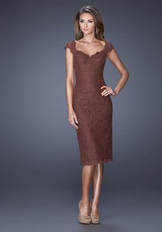 La Femme Evening 20443 Mother Of The Bride Dress - The Knot