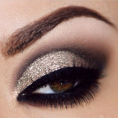 close up eye makeup | close up of vegas_nay pretty brown eyes using all Eye makeup