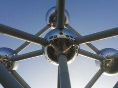 Bruxelas, Bélgica - visitando o Atomium e o ADAM