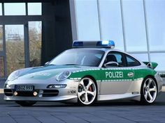 Good luck getting away from this Porsche cop car in Germany.