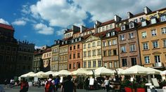 Warsaw the old town 😍