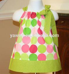 2014 de moda de verano de las muchachas vestido de patrones de ...