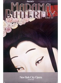 NYC Opera Madam Butterfly Poster